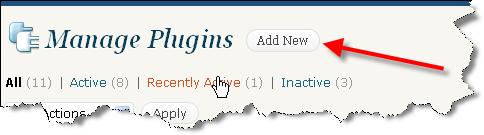 pjCheviot Manage WordPress Plugins